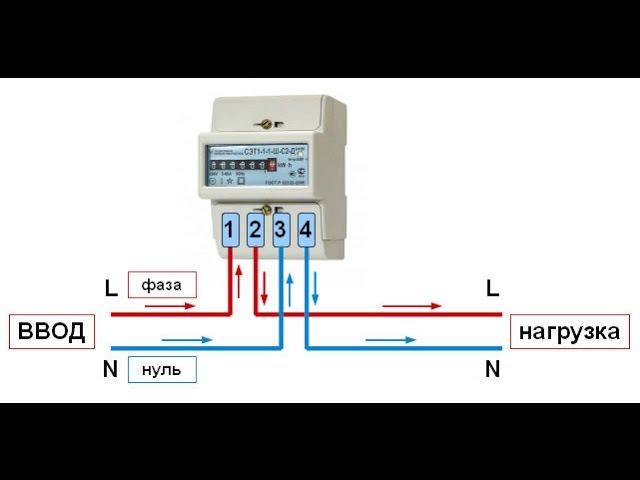 Как подключить счетчик электроэнергии?