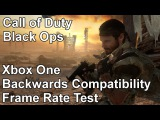 Call of Duty Black Ops Xbox 360 vs Xbox One Backwards Compatibility Frame Rate Test