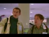 """Отрывок из сериала """"Убойная сила"""". Путешествие в Америку. В самолете. В аэропорту."""