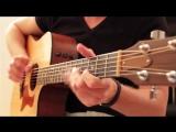 Отличная игра на гитаре