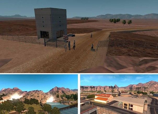 American Truck Simulator мод карта Зона 51