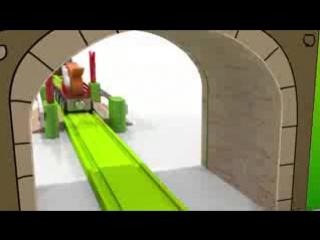 Песни для детей от 1 года. Развивающие мультики про машинки. Паровоз-зоопарк. Животные для детей. - 1456215469118