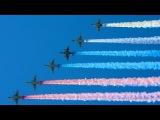 День Победы 2016: Авиационная часть парада в Москве - 9 мая / 09.05.2016