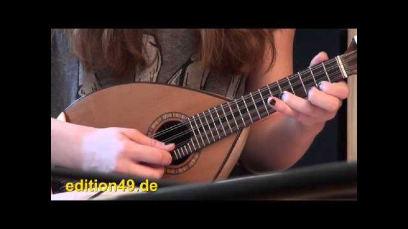 Forrest Gump Main Theme mandolin mandola guitar Anna Bernard Boris Bagger