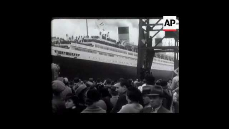 RMS Queen Mary Starts On Maiden Voyage