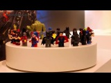 LEGO DC Comics Super Heroes carousel with all summer 2016 minifigures!