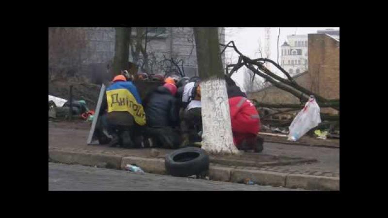 Жорстокі вбивства мирних мітингувальників вул. Інститутська 20 лютого Київ Майдан Незалежності