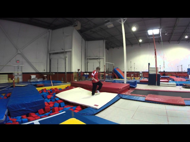 Back Full Trampoline Tutorial- How to Double Triple Quad Twist