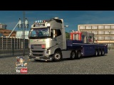 [ETS2 v1.22] Volvo FH16 Torben S Jensen + DLC Cabin