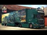 [ETS2 v1.22] Scania DQF Flower Shuttle + V8 Sound