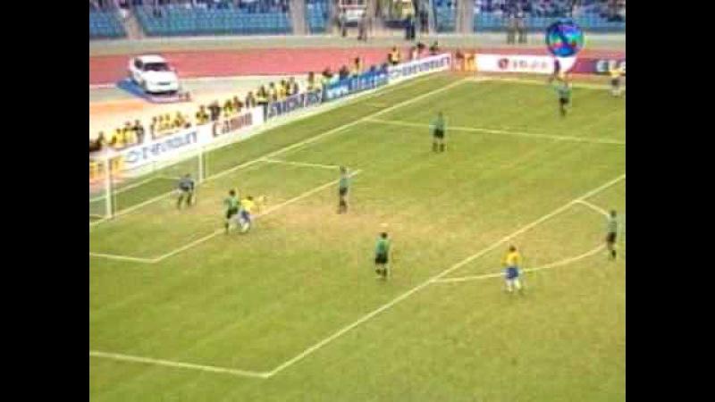 Copa das Confederações 1997: Brasil 6x0 Austrália