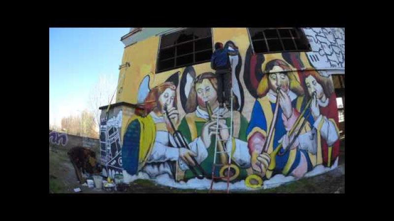 R.U.S.Co - Recupero Urbano Spazi Comuni - street art - 4k