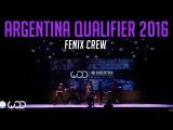 Fenix Crew  Upper Division  World of Dance Argentina Qualifier 2016  #WODARG16