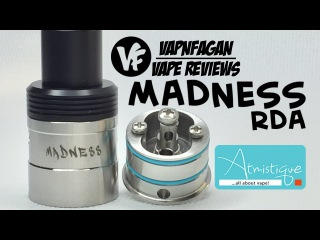 MADNESS RDA by Atmistique - Review & Rebuild - VapnFagan Reviews