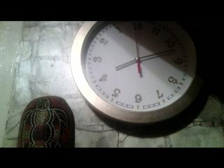 ебнутые часы( время тикает назад)