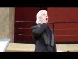 Dmitri Hvorostovsky - Dark Eyes  Farewell, Happiness (Wien 2016)