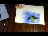 Приемы, используемые при создании картин из шерсти.Светлана Разгуляева.