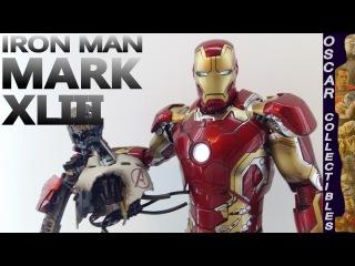 Обзор фигурки Железный Человек Марк 43 Мстители: Эра Альтрона / Iron Man MARK XLIII Hot Toys figure