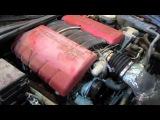 2008 Corvette Z06 C6 LS7 7.0L V8 Engine Test (150908)