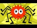 Инси-Винси паучок   потешки   Incy Wincy Spider