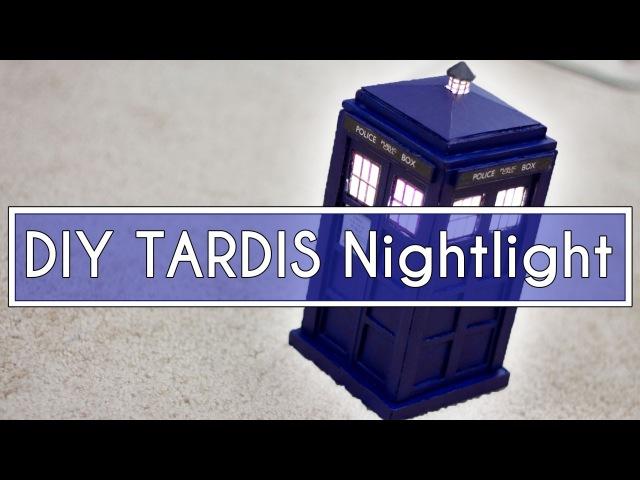 DIY Doctor Who TARDIS Nightlight!! ► JamesChats