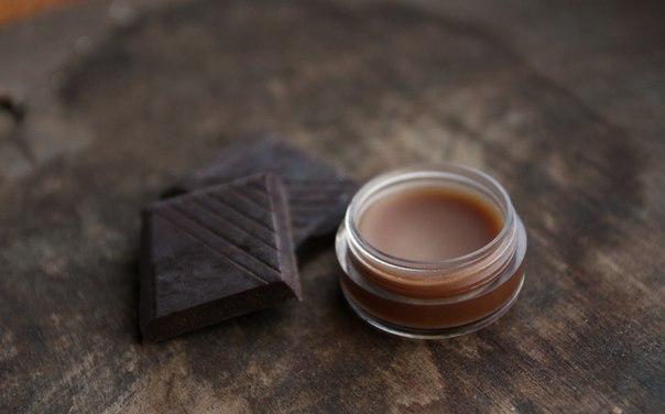 Шоколадный бальзам - блеск для губ своими руками - Как приготовить