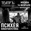14.02 ПСИХЕЯ КИБЕРАКУСТИКА @ ТЕАТРЪ, МОСКВА