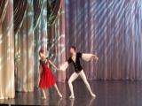Лаура Фернандес и Рауль Феррейра, адажио из балета