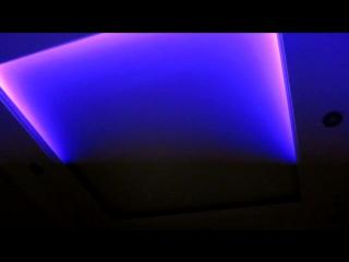 Потолок из гипсокартона с подсветкой, инструкция сборки.