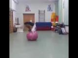 SLs Incredibly Flexible Girl with Ball