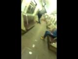 Едем в 6 утра в метро в Тушино
