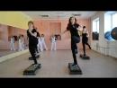 интервальная тренировка и калланетика. танец