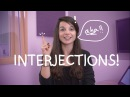 Weekly English Words with Alisha - Interjections!