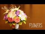 Цветы из Лент Своими Руками / Подарки на 8 Марта / Канзаши Мастер- Класс / KANZASHI