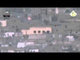 Боец «Хезболлы» увернулся от ракеты. LiveLeak - Missed me. Сирия. Syria.