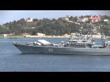 Неудачный запуск ракеты в Севастополе с СКР Ладный [HD]
