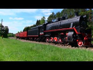 Паровоз СО17-744 и тепловоз ЧМЭ3М-6750 / Steam locomotive SO17-744 and diesel locomotive CME3M-6750