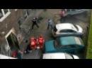 Wypadł z okna kamienicy przy Noakowskiego profesjonalna interwencja policji i pogotowia