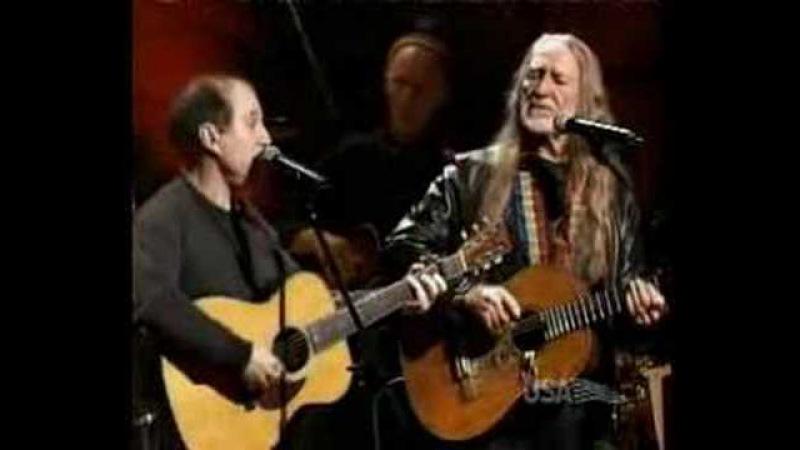 Paul Simon and Willie Nelson - Homeward Bound