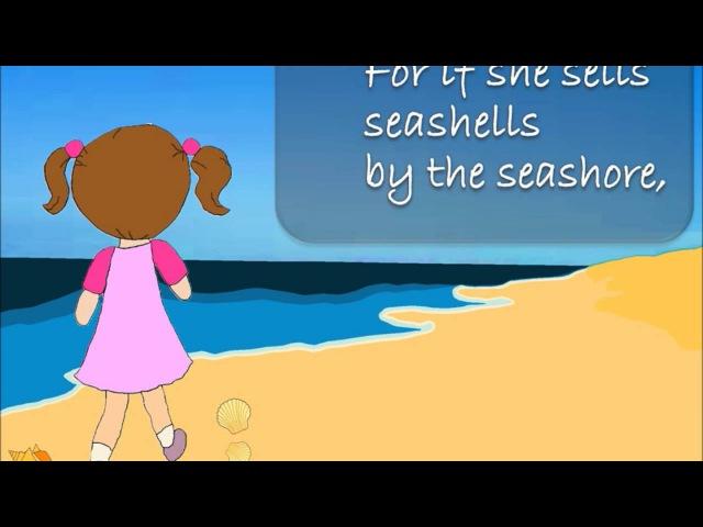 She Sells Seashells by the Seashore | Tongue Twisters