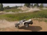 """""""ЛОСЬ"""" часть 14 ... Losi 5ive-T и Losi DBXL 15 ... тест на новых движках, драг и много пыли."""