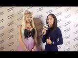Интервью певицы и живой куклы Барби Татьяны Тузовой для ТВ ШАНС ФЭШН
