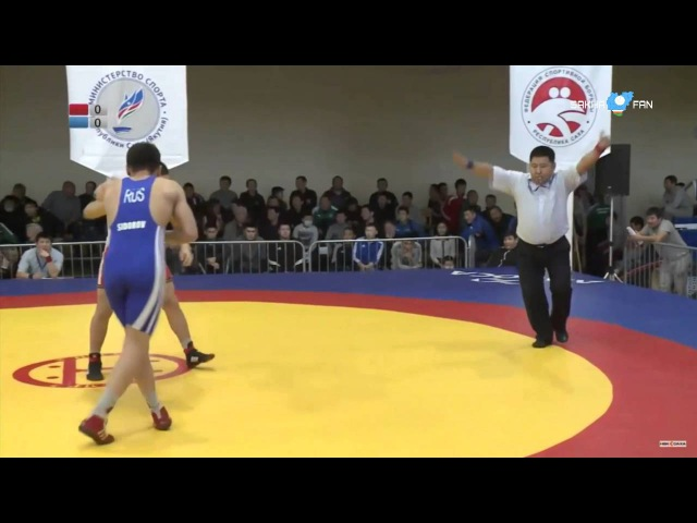 Тарскай 2016 / 86 кг Игорь Софронеев - Дьулустаан Попов