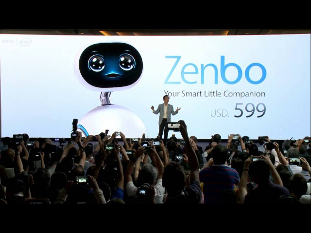 Zenbo Press Event Highlight | ASUS (3m 41s)