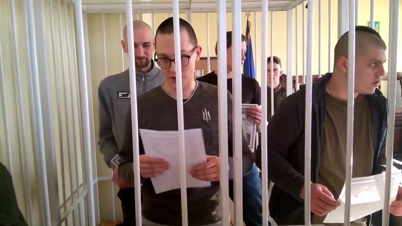 Політв'язні правосеки підтримали Юрія Хорта та розірвали портрети Порошенка