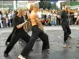 Black panters 10-07-2004 Наше выступление в Киеве Школа Кунг-Фу и Тайского Бокса