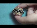 Tutorial perline sfera rivestita Twistcon superduo Beading tutorial Twist beaded bead
