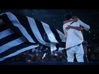 Beyonce and Jay Z - Young Forever,Halo(OnTheRunHBO)