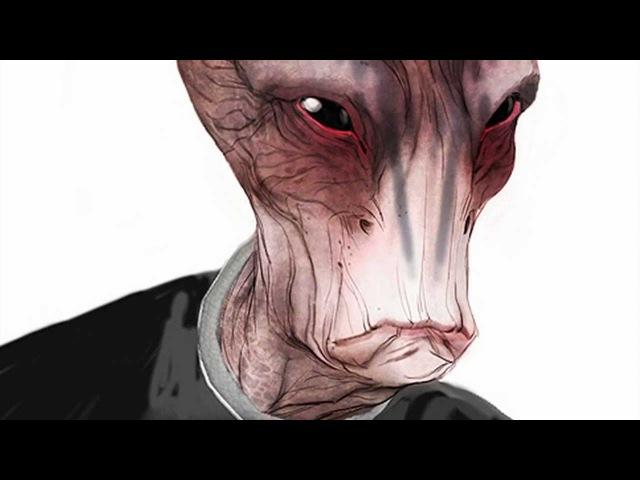 Mass Effect - Creating the Salarians, Batarians