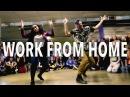 WORK FROM HOME - Fifth Harmony ft Ty Dolla $ign | @MattSteffanina Choreography